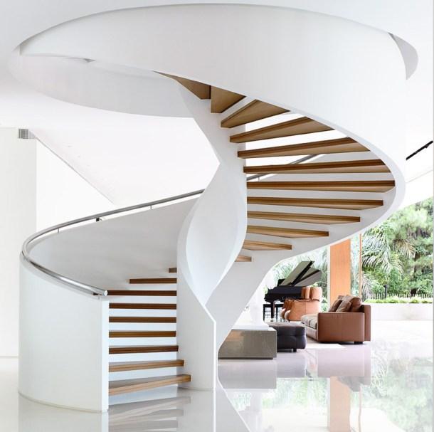 винтовые лестницы в доме