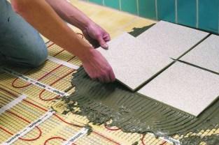 Керамическая плитка поверх электрического теплого пола