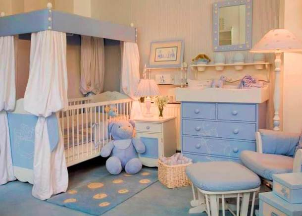 безопасная комната для новорожденных