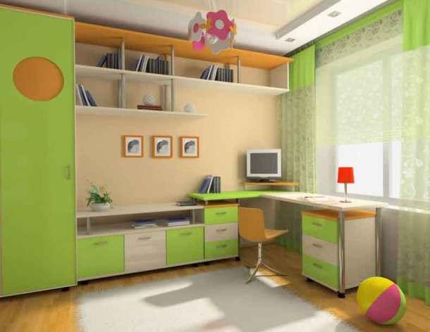 просторная комната для учащегося школы