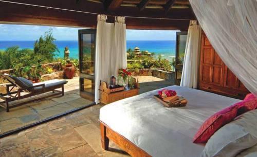 место для отдыха с видом на море