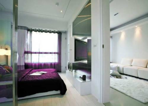 место для сна в стиле минимализм