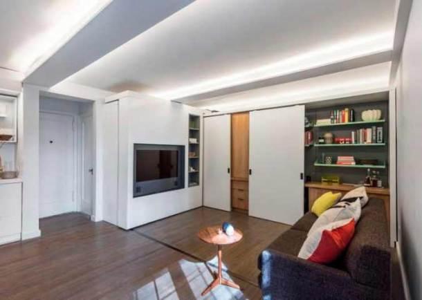 просторная малогабаритная квартира-студия