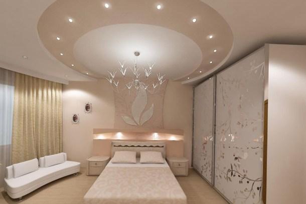 многоуровневые потолки, японский стиль