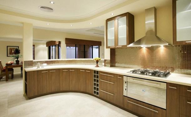 дизайн кухни - единое пространство