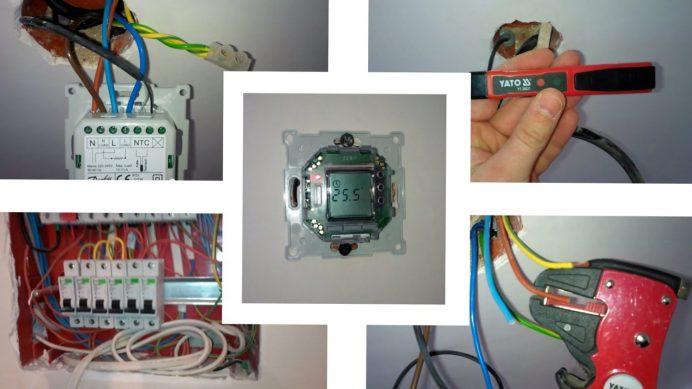 терморегулятор теплого пола программируемый