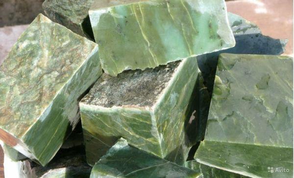 Нефрит - камень для бани