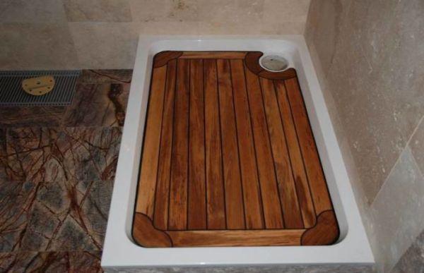 душевой поддон в бане