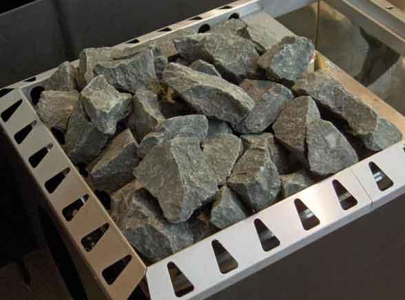 камни для банной печи - габрро-диабаз
