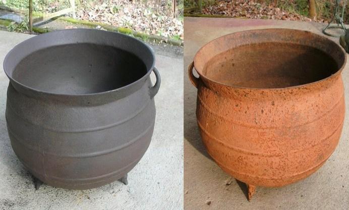 котел для пищи (чан) очищенный методом электролиза