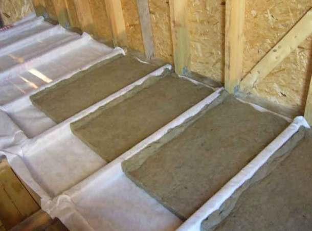 деревянные полы с утеплителем
