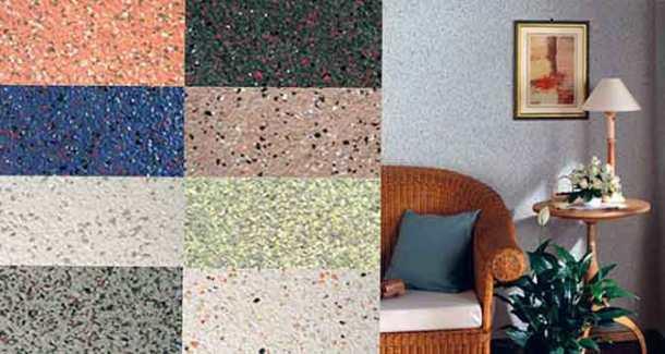 флоки на стене, текстуры