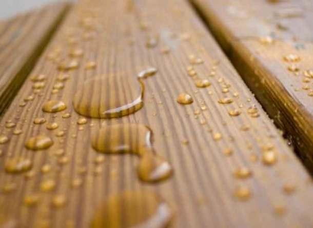 защита древесины воском