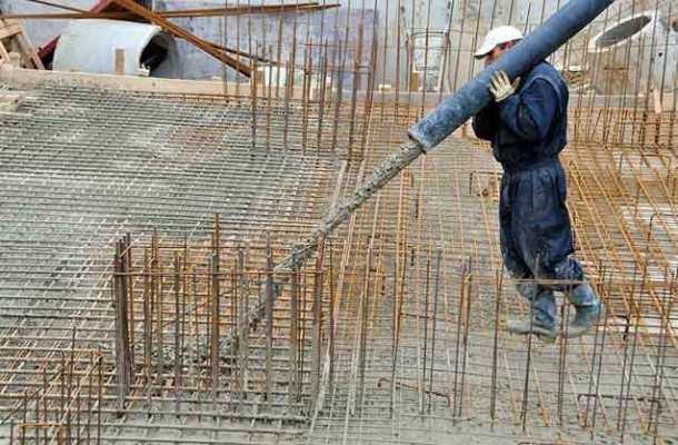 подача бетонной смеси