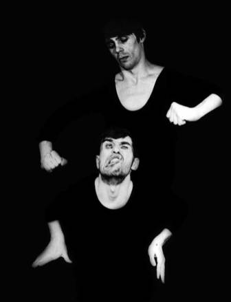Сергей Везнер и я. Пантомима «Фотография». Театр «Мимоход».