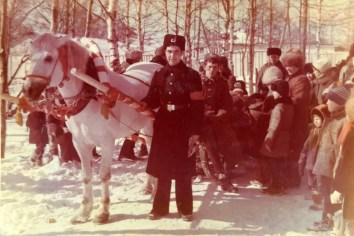 Город Советская Гавань. Проводы русской зимы. Я в патруле.