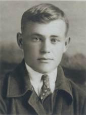 Дед Борис Васильевич Гришковец. Фотография на студенческий билет Томского университета. Первый курс.