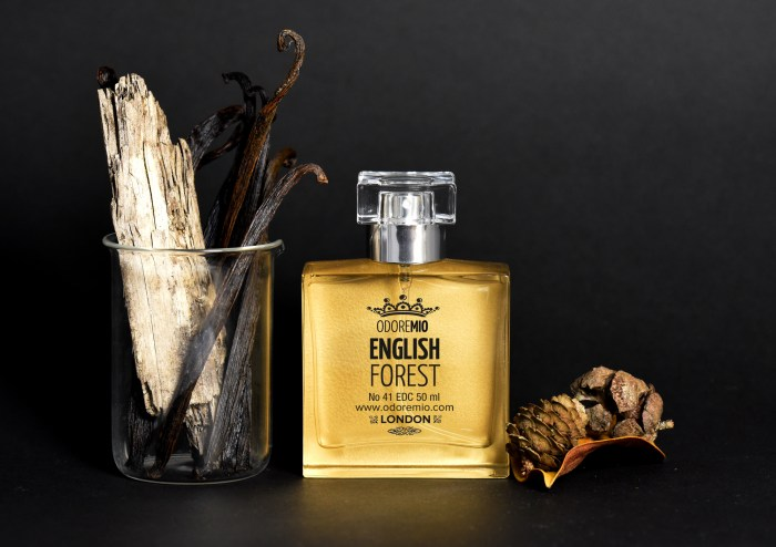 Odore Mio English Forest Smoky Gold Fragrance 50ml