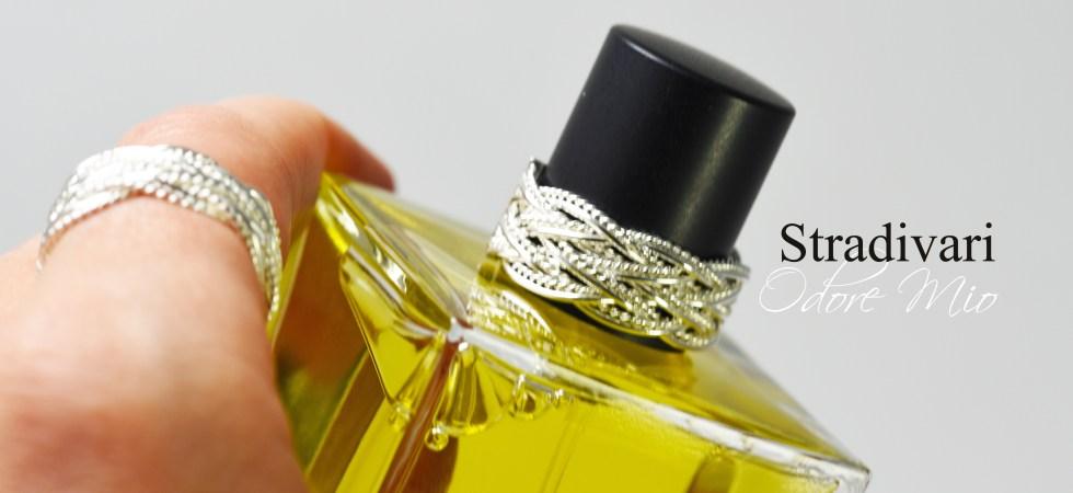 Odore Mio Stradivari Perfume Silver Ring