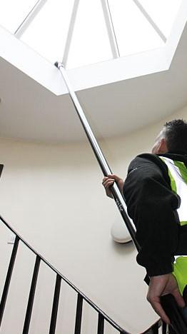 High-Reach Vacuuming