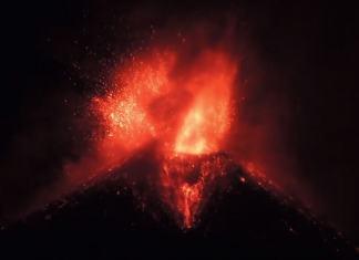 erupcia etny