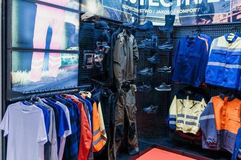 Odzież i akcesoria BHP