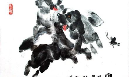 Чудо-картины из отпечатков пальцев