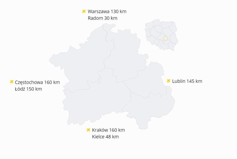 mapa ziemi odrowążów