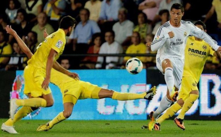 El Real Madrid gana al Villarreal