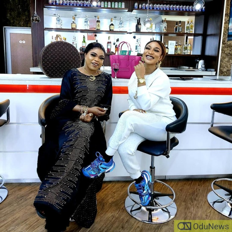 Tonto Dike And Bobrisky Celebrate 4 Years Of Friendship