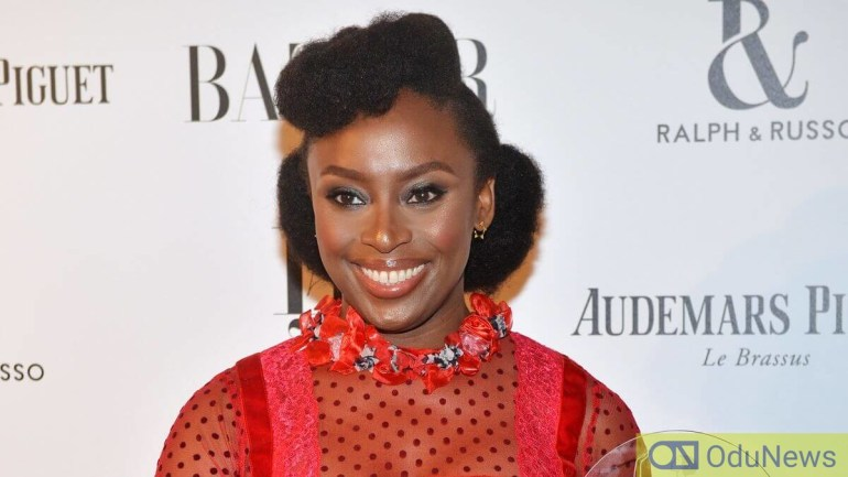 Chimamanda's book adapted as series on HBO