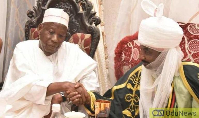 BREAKING: Ganduje Govt. Dethrones Emir Sanusi