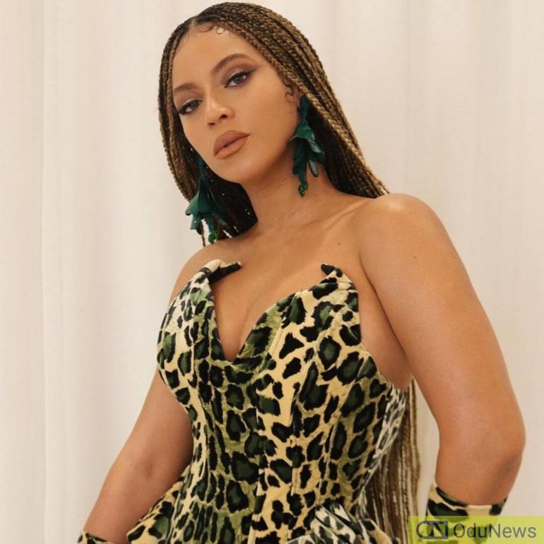Beyonce in December 2019