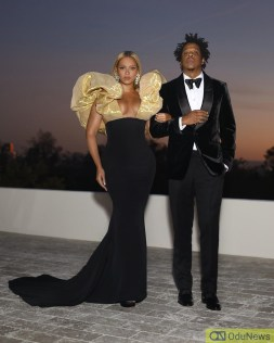 Beyonce and Jay Z at Golden Globes Awards 2020