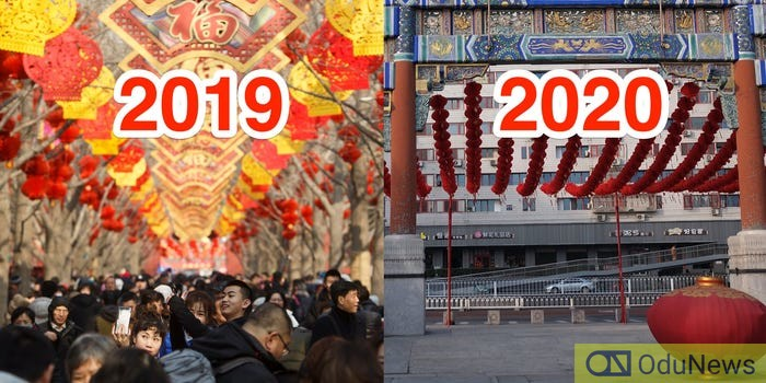 Chinese New Year 2019 vs 2020