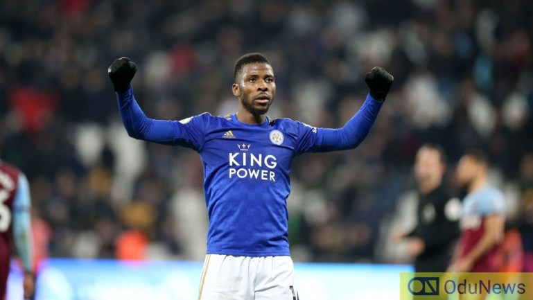 Iheanacho scores for Leicester City to win against Brentford at FA Cup