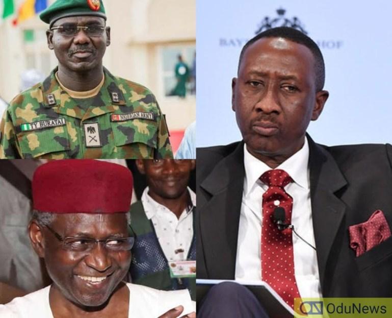 Crisis In Presidency: Army Boss Buratai Sides Abba Kyari, Takes Step Against NSA Monguno