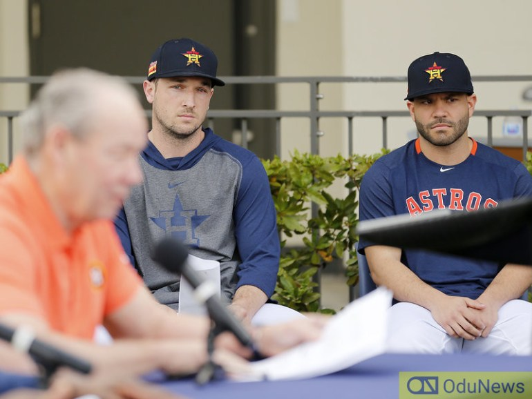 Houston Astros apologize on behalf of players for sign-stealing