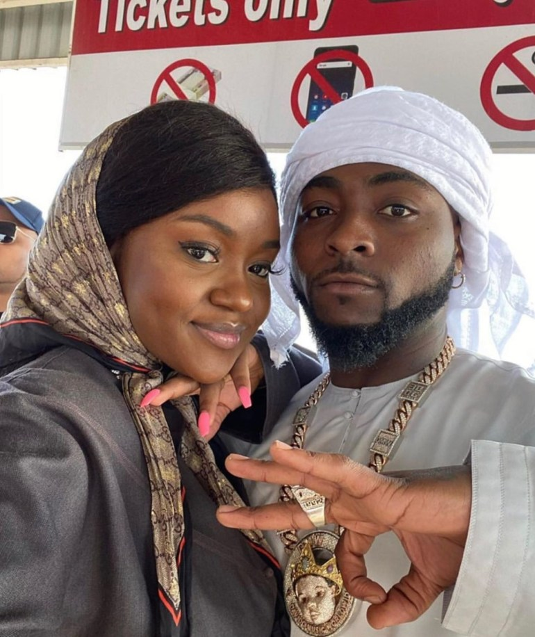 Davido said that of the 31 persons that were tested, only Chioma's results showed that she had COVID-19