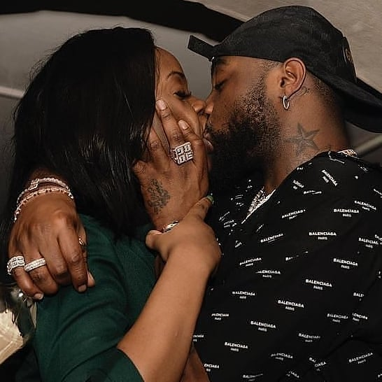 Davido & Chioma Make Out In Self-Isolation [VIDEO]