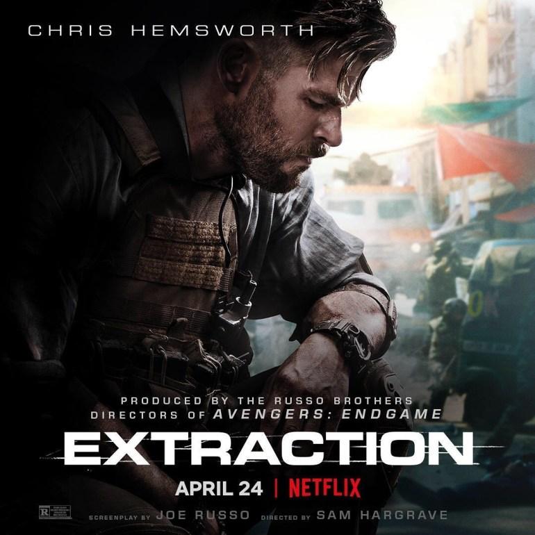 Netflix's 'Extraction' Starring Chris Hemsworth Debuts Amazing Poster