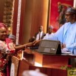 Buhari Swears In Yemi Esan As New Head Of Federal Civil Service