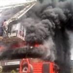 Fire Razes CBN Office In Jos