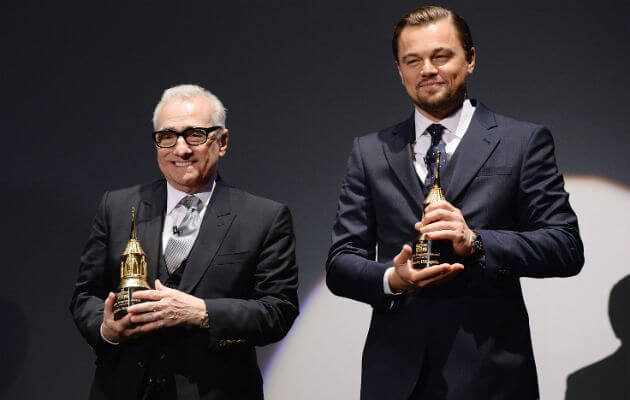 Scorsese and DiCaprio/Photo Credit: Getty Images