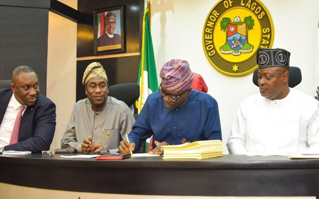 Lagos Govt. Cuts N247.5billion From 2020 Budget