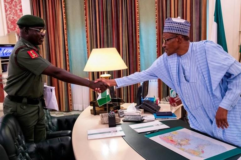 Buhari, Buratai Meet Behind Closed Door