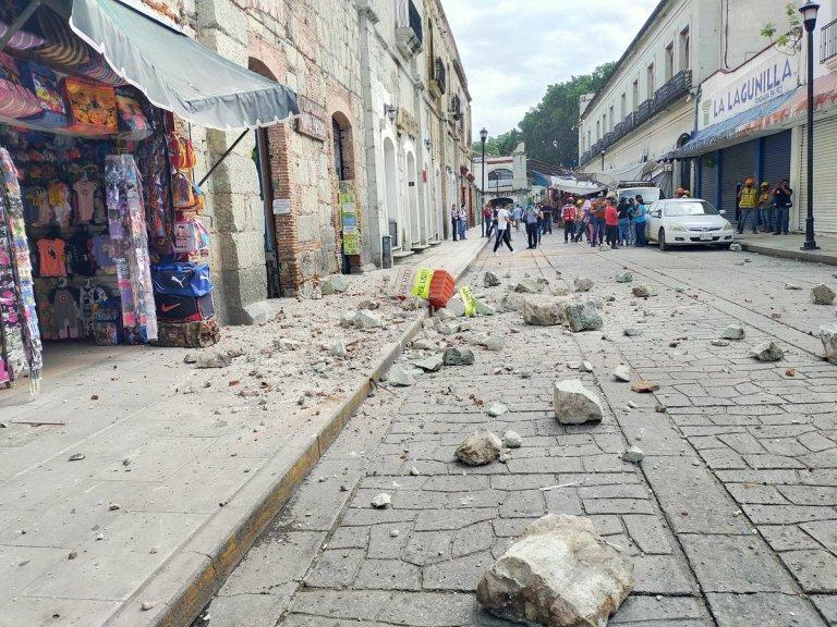 7.5-magnitude Earthquake Hits Oaxaca In Mexico