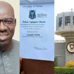 Obaseki's Degree Certificate Not Fake – UI