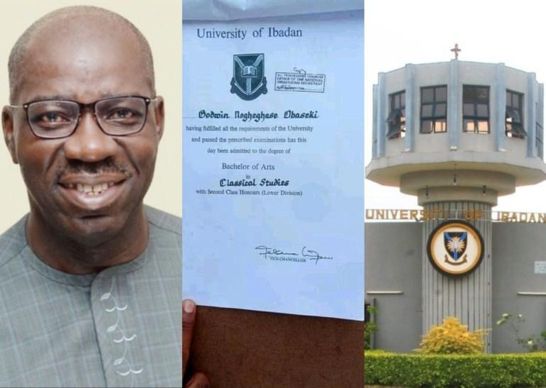 Obaseki's Degree Certificate Not Fake - UI