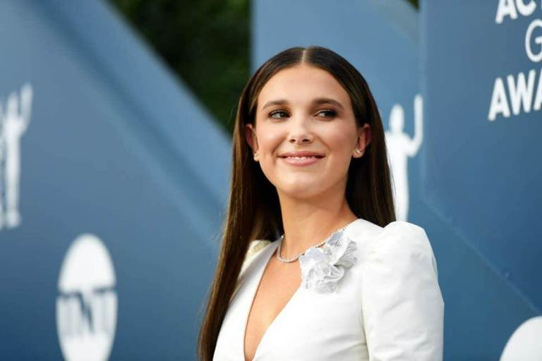 Milly Bobby Brown Shines In New Images From 'Enola Holmes'/Photo Credit: Getty Images